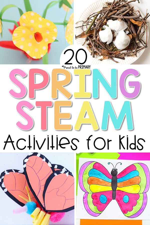 STEAM Into Spring! 20 Spring Activities for Kids
