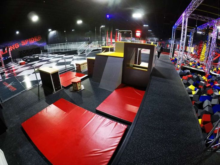 DEFY St. Louis (With images) Trampoline park, Trampoline