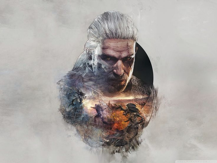 The Witcher 3: Geralt