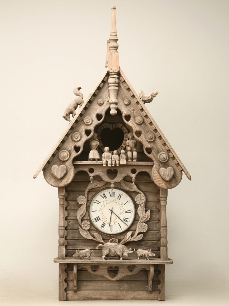 3373 best images about funky folk art on pinterest - Funky cuckoo clock ...