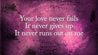 One Thing Remains - Jesus Culture (lyric video), via YouTube.