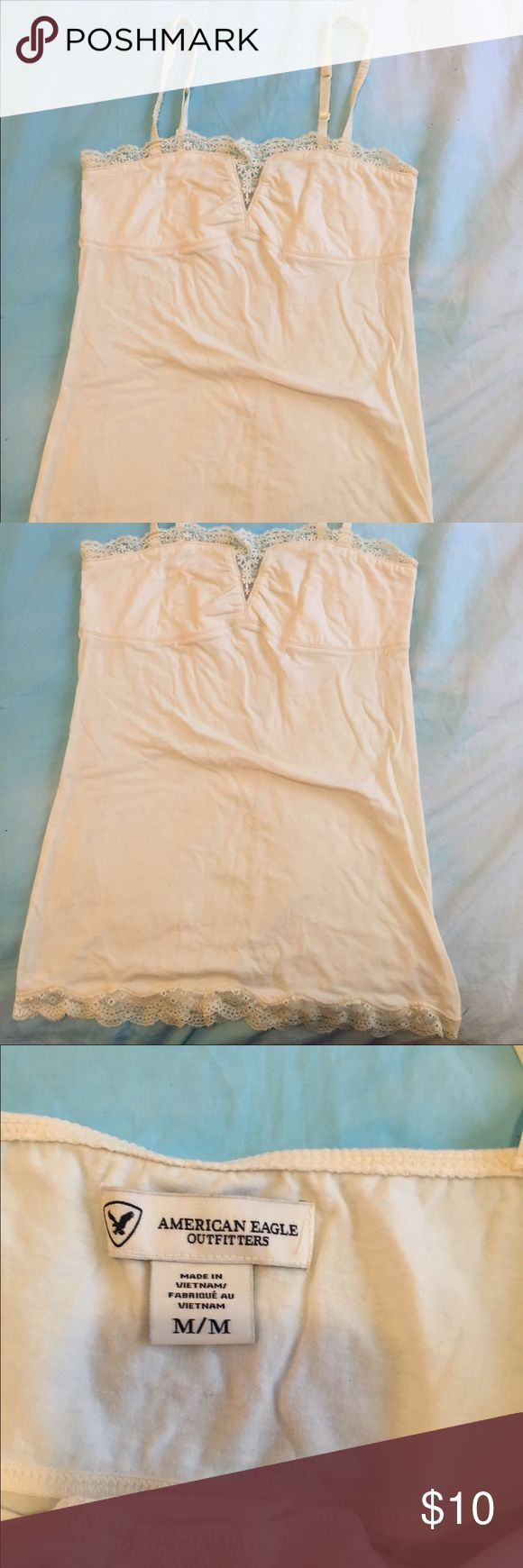 American Eagle cami Cute American Eagle cami with shelf bra. Worn once. American Eagle Outfitters Tops Camisoles