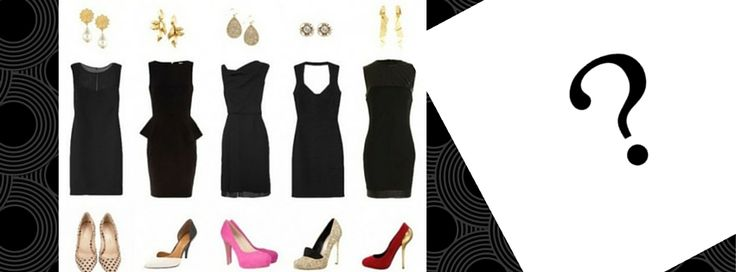 Outfit matrimonio vestito nero