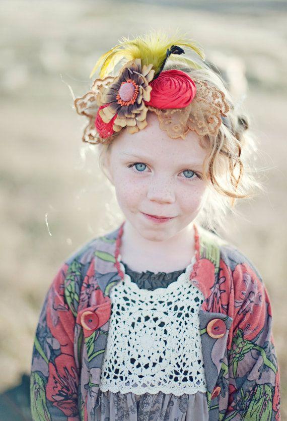 love this headbandHair Piece, Gorgeous Colours, Head Piece, Baby Girls, Children Headbands, Flower Children, Little Girls Hair Bows, Baby Boy, Innocent Children