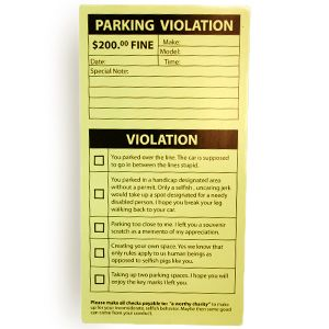 how to find parking ticket number