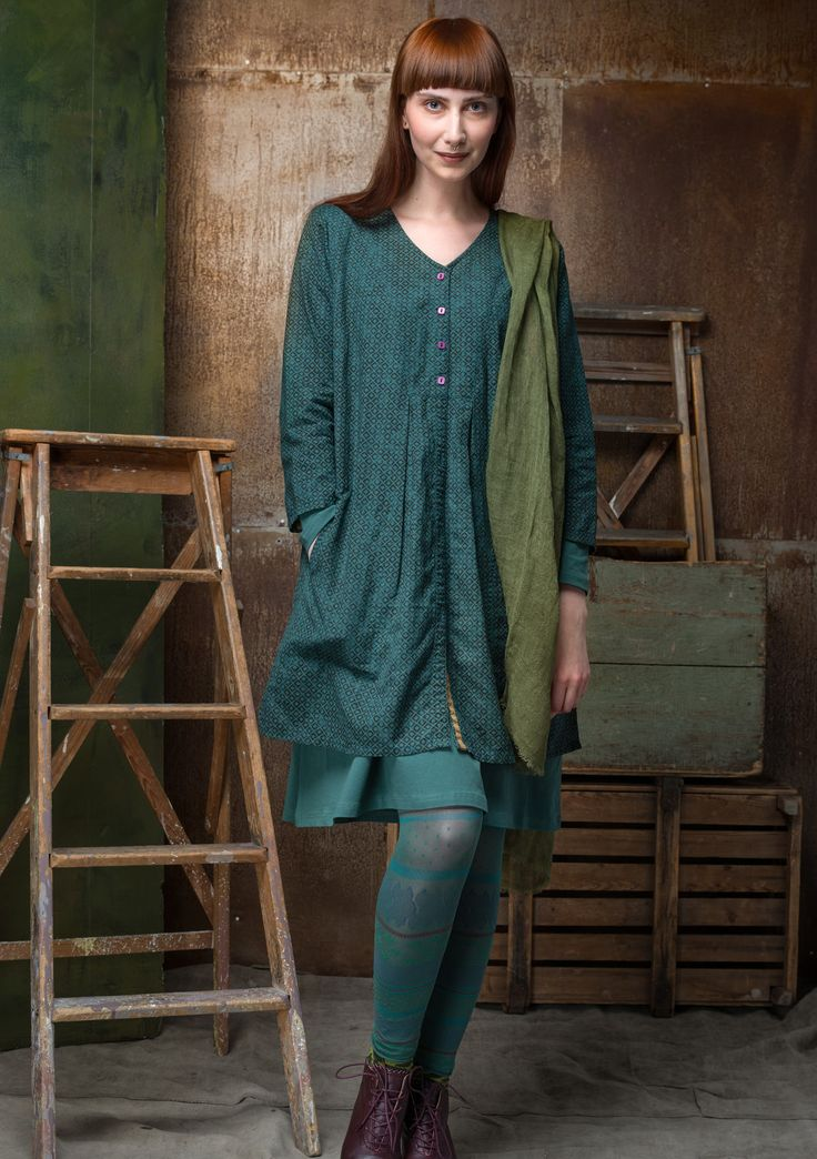 """""""Sigrid"""" tunic in linen/cotton – Blouses & waistcoats – GUDRUN SJÖDÉN – Webshop, mail order and boutiques 