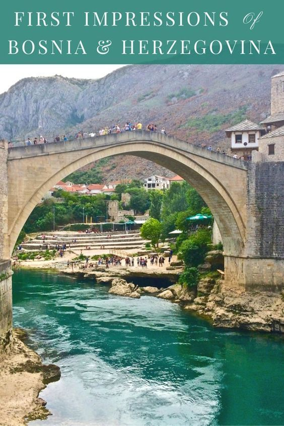 Find out what my first impressions were of Bosnia and Herzegovina during my day trip from Dubrovnik, and why you should visit too! http://www.littlethingstravel.com