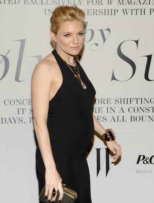 Sienna Miller y sus looks de embarazada | Fashion Mix