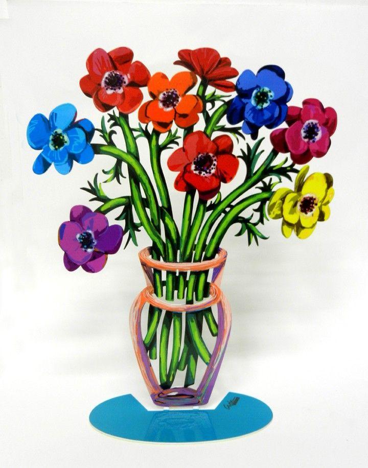 Poppies Vase David Gerstein
