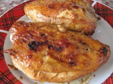 Сочная куриная грудка в маринаде, запеченная в духовке