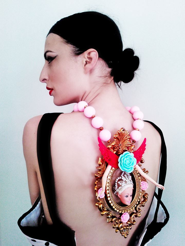 Esther Mastroyianni wears Kondylatos Necklace