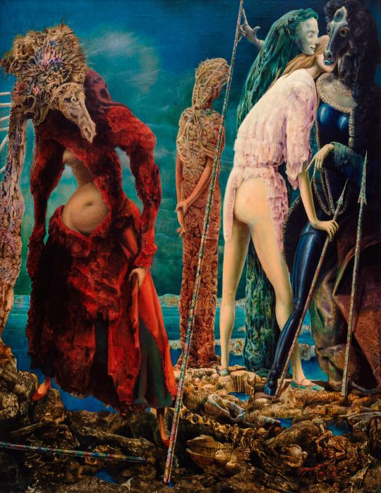 The Antipope by Max Ernst by Guggenheim Museum