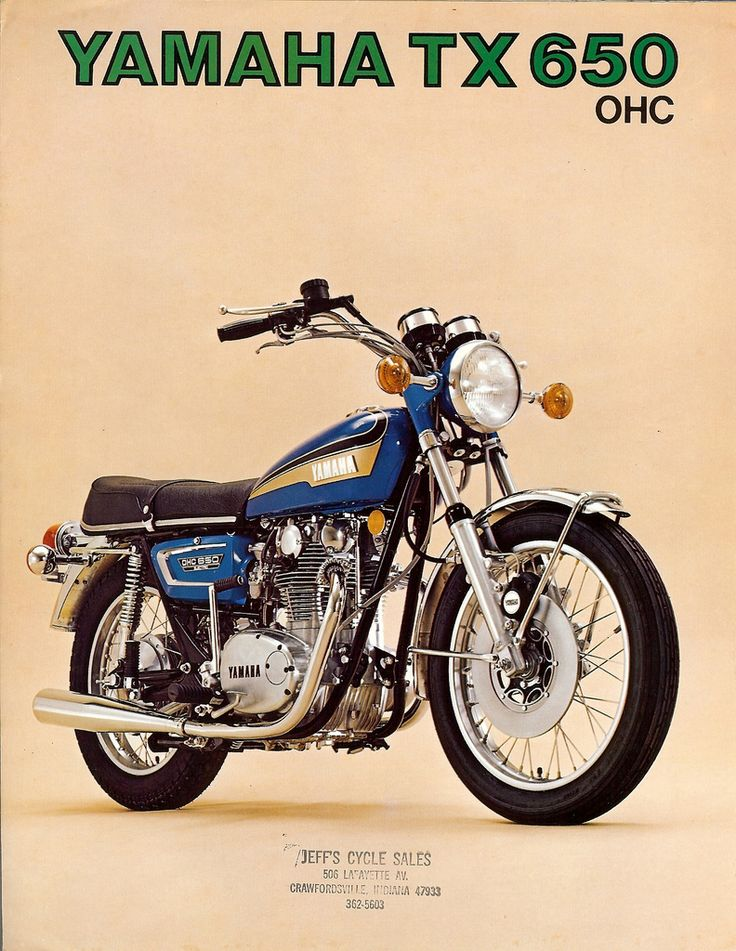 Yamaha TX650 brochure | Flickr - Photo Sharing!