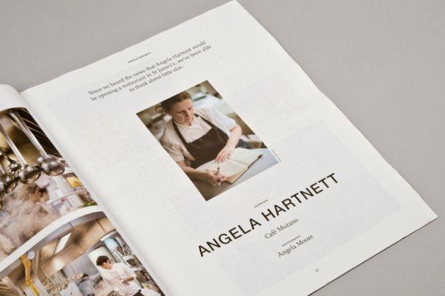 St James's Correspondent Issue 3 Interview with Angela Hartnett, Cafe Murano
