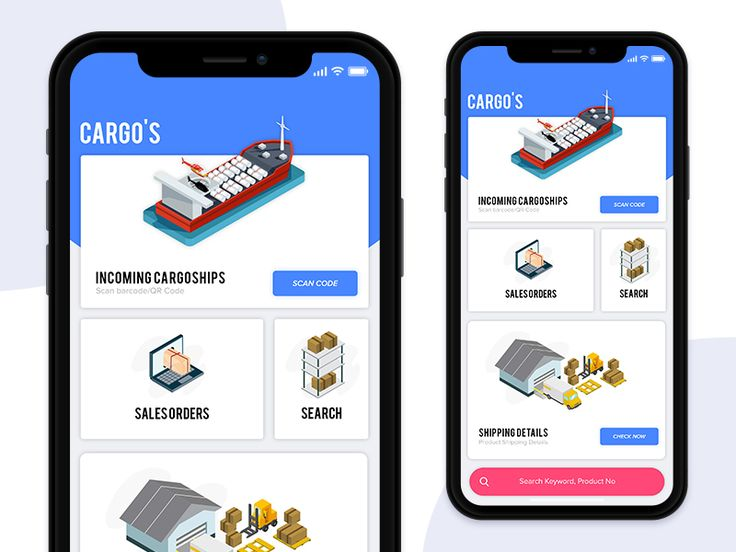 Inventory App for Cargo's | iOS | UI/UX
