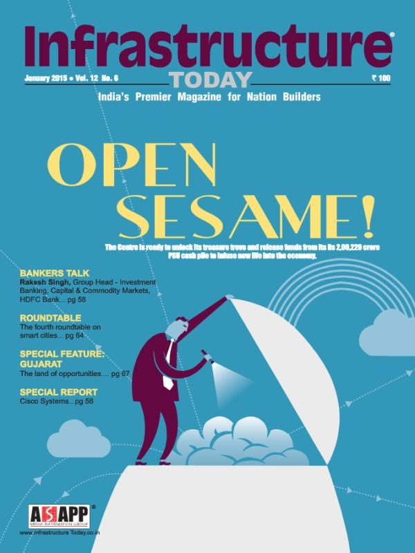 """Have a look on the latest edition of Infrastructure Today Magazine- January 2015 come with a new concept """"Open Sesame""""."""
