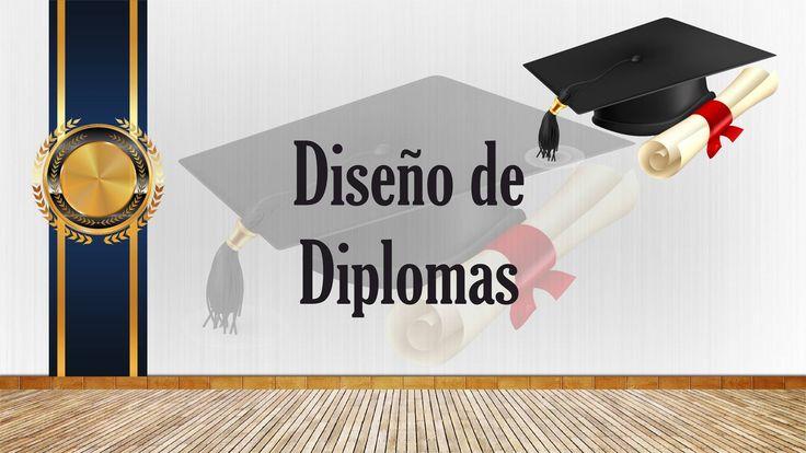 Diseños de Diplomas Para Graduaciones colección 1 descarga Gratis, Edita...