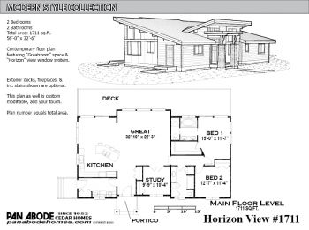 Pan Abode Cedar Homes Custom Cedar Home And Cabin Kits