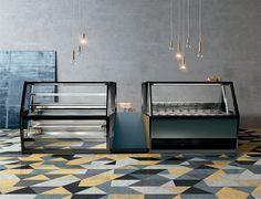 #Amazing #FB #vetrina #showcase #pasticceria #gelateria #icecream #pastry #shop #interior #design #inspiration
