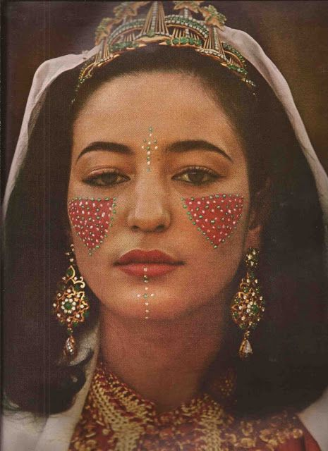 Lalla Nouzha on the occasion of her wedding to Ahmed bin Mohammed Osman