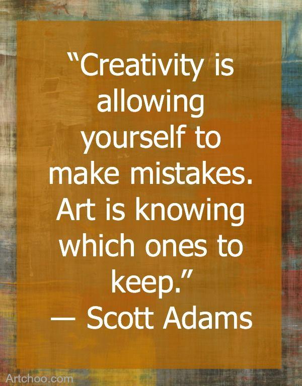 Creativity quote by Scott Adams