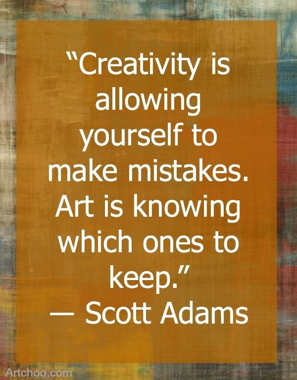 We love this beautiful quote from #ScottAdams about #creativityandart https://www.etsy.com/shop/TransparentEsDecor