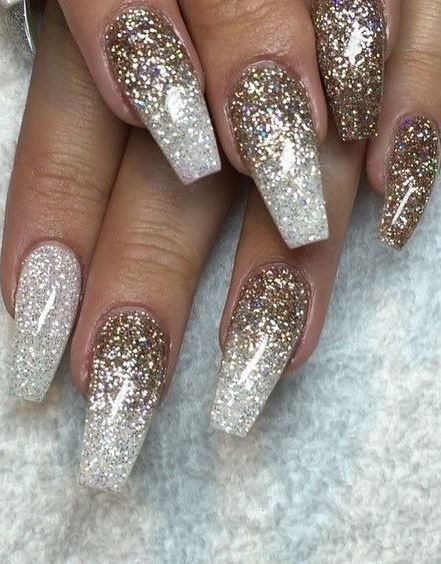 Glitter Nail Art Inspiration Nail Art Designs Pinterest Nails