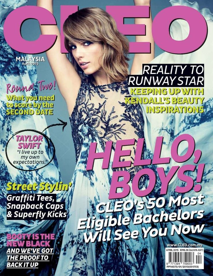 Taylor Swift – CLEO Malaysia Magazine (April 2015)