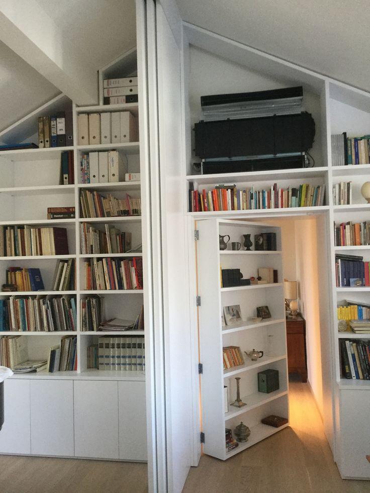 https://flic.kr/p/yNZFW5 | Mazzali on demand | Libreria o porta ? ...entrambi bookcase or door? both ...  C'è il su misura e c'è il SU MISURA. MAZZALI … soluzioni infinite per il tuo spazio. ( Armadio libreria a mansarda lungo 12 metri e altezza 4 metri. ) By Egostile, Milano. ----- MAZZALI ... a totally ON DEMAND offer Endless solutions for your space Attic wardrobe and bookcase, length 12 meters and height of 4 meters.