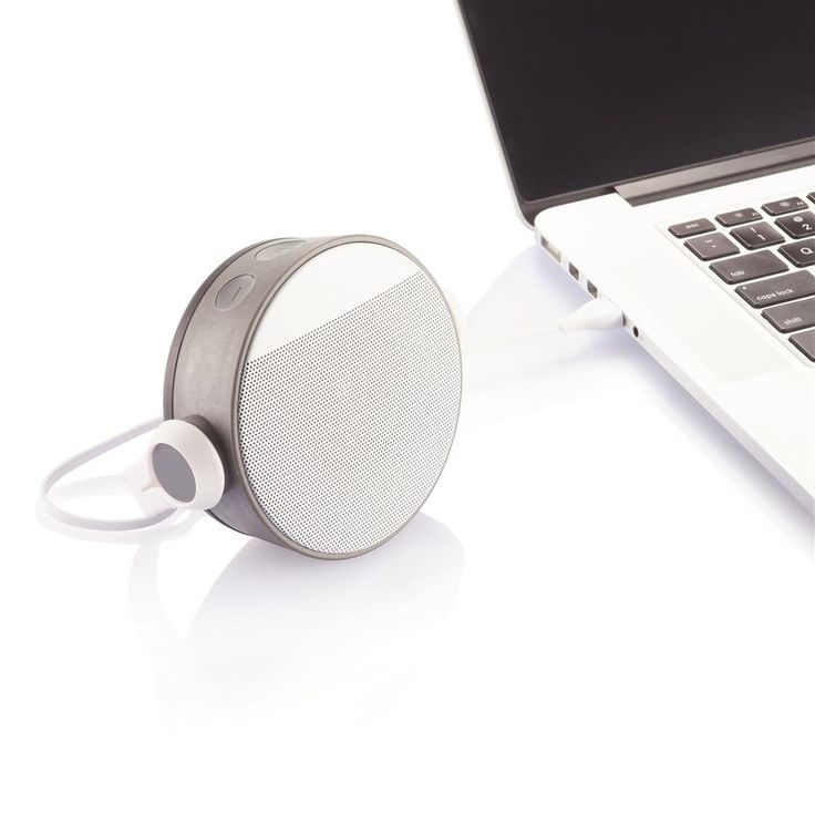 Oova altoparlante bluetooth  -  grey/white. Design registrato®