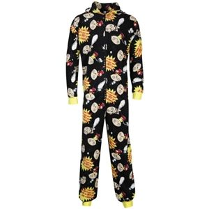 Family Guy Mens Stewie Printed Onesie (Black)