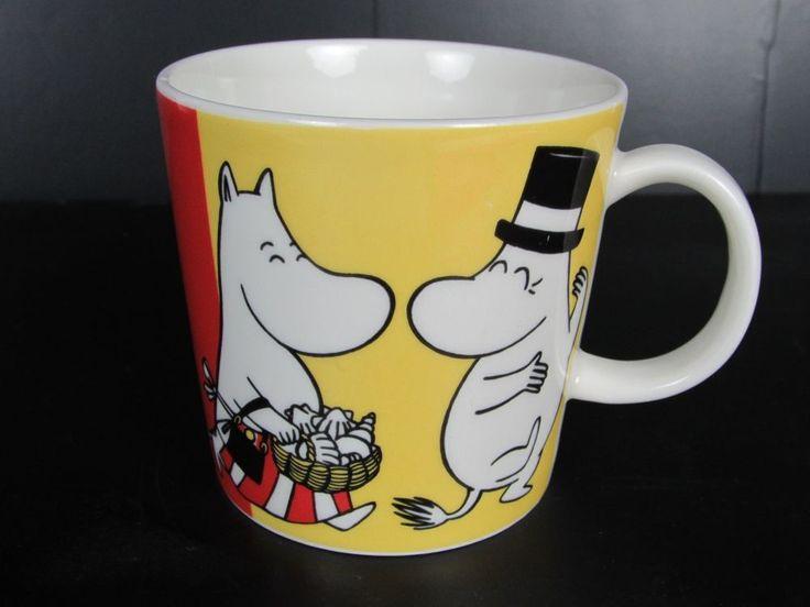 Arabia Moomin mug Family Finland Scandinavian Tove Jansson Mama Papa Moomintroll #Arabia