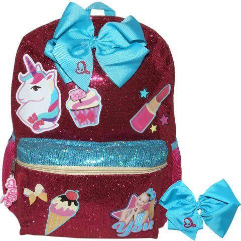 "JoJo Siwa Nickelodeon 16"" JoJo Siwa Kids' Backpack - Pink. #jojo #jojosiwa #jojobows #jo-jo #nickelodeon #backpack #bags #bag #bows #adorable #girls #girlsgift"