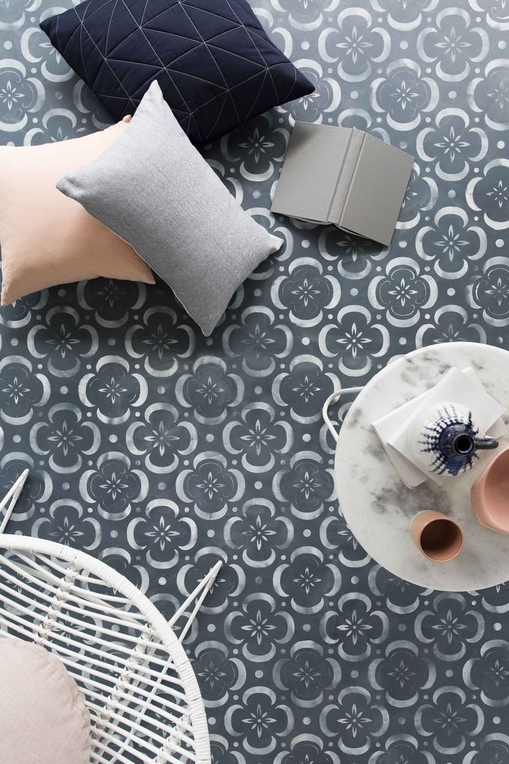 Forget the carpet versus floorboards debate. If your flooring is in need of an update but you're not sure what to do, try this easy and unique stencilled floor design.