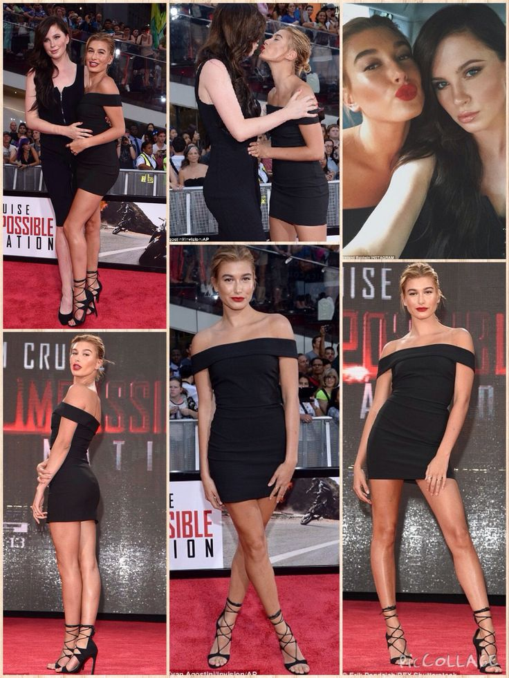 Kissing cousins! During the Monday night premiere of Mission: Impossible - Rogue Nation in New York City, Hailey Baldwin (whose father is Stephen) was seen planting a kiss on her cousin Ireland Baldwin (whose father is Alec)