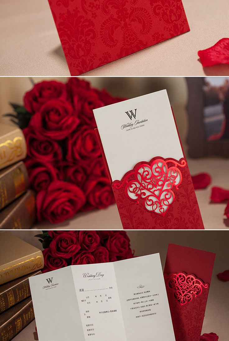 38 best decoracion bodas en rojo images on Pinterest | Weddings ...