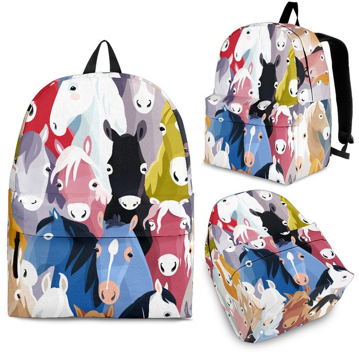 Just in: Horse Crowd Backpack, buy it now : http://www.therealbigdeal.com.au/products/horse-crowd-backpack?utm_campaign=social_autopilot&utm_source=pin&utm_medium=pin