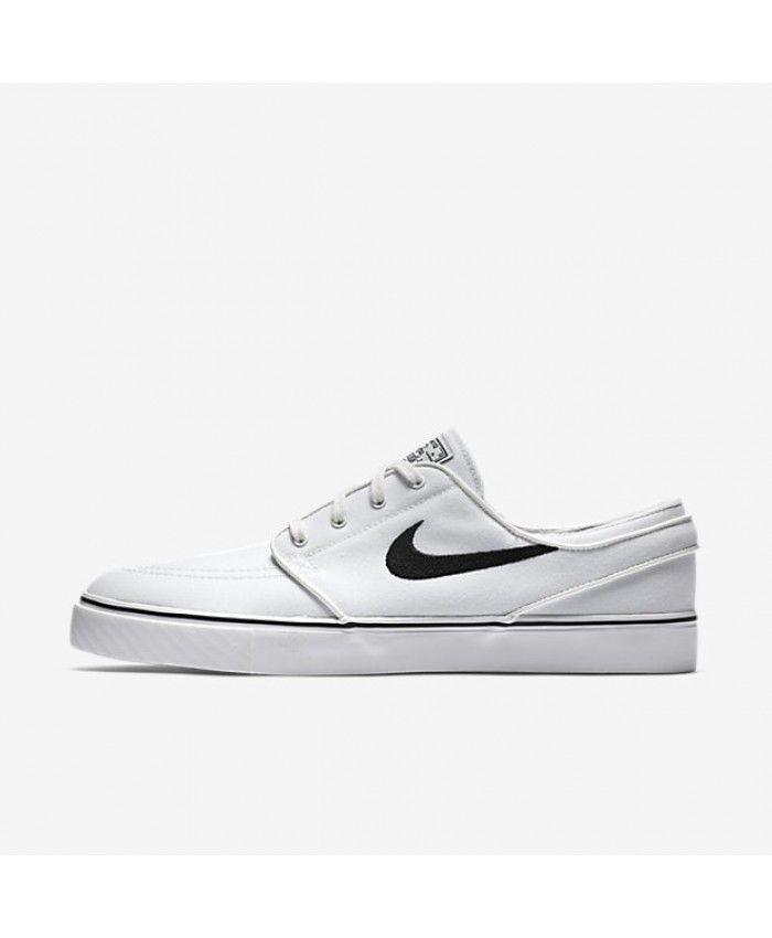 Nike SB Zoom Stefan Janoski Canvas Summit White Black 615957-100