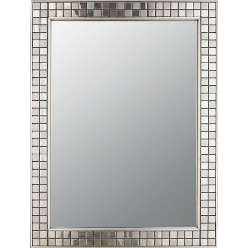 Vetreo Metalica Polished Chrome Mirror