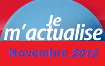 Actualisation en Décembre pour Novembre 2012