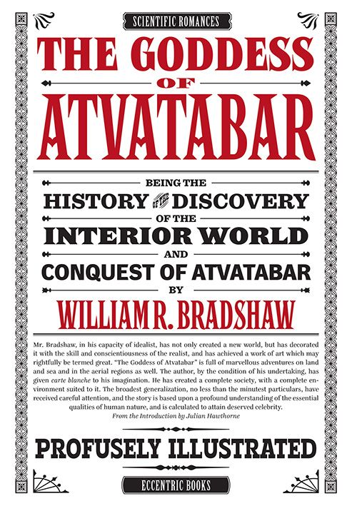 """The Goddess of Atvatabar"" by William R. Bradshaw"