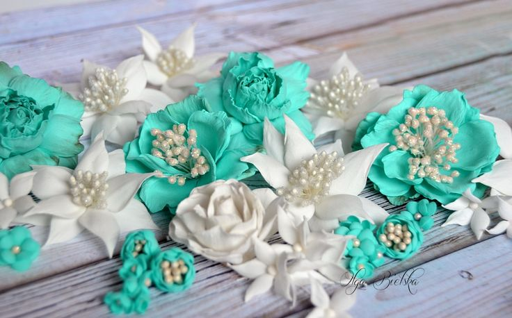Foamiran flowers. Kwiaty z foamiranu.