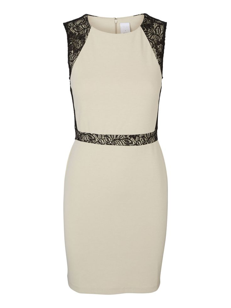 Bodycon dress with lace details. The perfect party dress for an elegant look.
