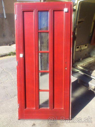 Drevené vchodové dvere - 1