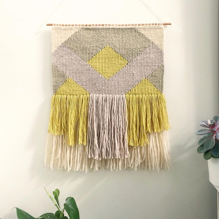 632 best ♥ Fringes for your wall (Freestyle woven, macramé) images ...