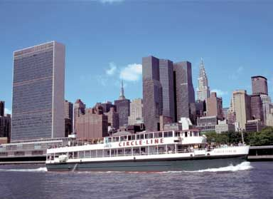 Circle Line 3 Hour Full Island Cruise: Cross under 20 bridges and see all five boroughs of New York City