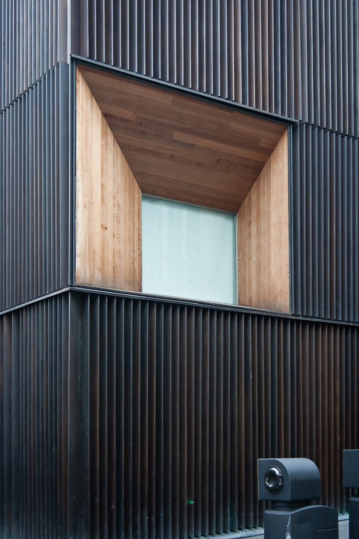 1000 ideas about metal facade on pinterest facades architects and office buildings. Black Bedroom Furniture Sets. Home Design Ideas