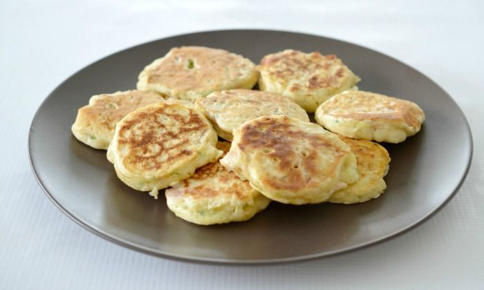 I came up with these Thermomix Ham and Zucchini Pikelets recipe as a way to smuggle some extra goodness into the kids in a form that they will eat!