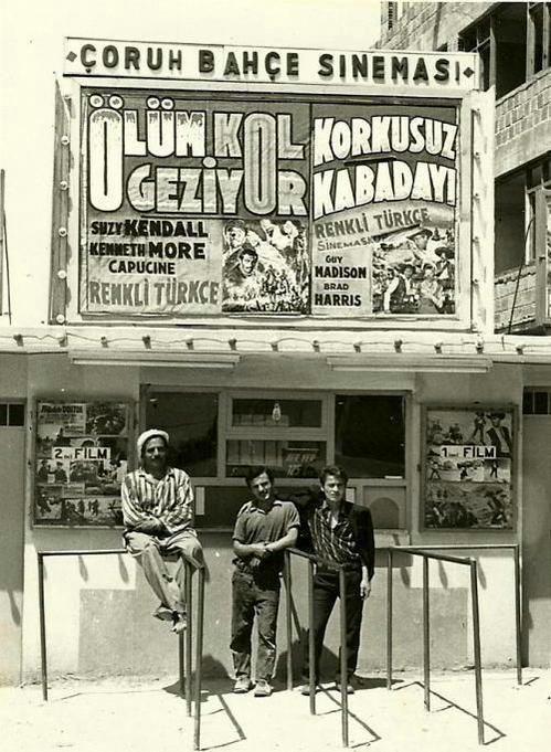 ✿ ❤ Bir zamanlar İstanbul, Çoruh Bahçe Sineması. Kocamustafapaşa, Samatya.