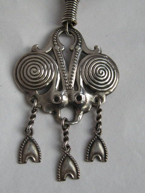 Vintage KALEVALA KORU Necklace, Finland, Ancient Design, Stunning . . .